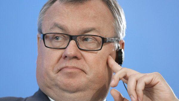 Председатель правления ОАО Банк ВТБ Андрей Костин на инвестиционном форуме ВТБ Капитал Россия зовет