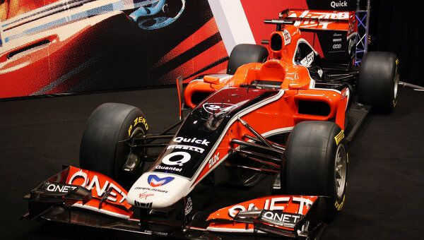 Презентация болида команды Marussia Virgin Racing