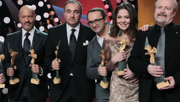 Награждение лауреатов премии Золотой орел