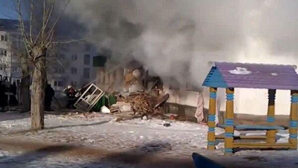 Последствия взрыва газа в жилом доме в Башкирии. Видео с места ЧП