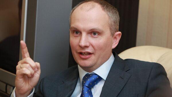 Генеральный директор Единой электронной торговой площадки Москвы Антон Емельянов. Архив