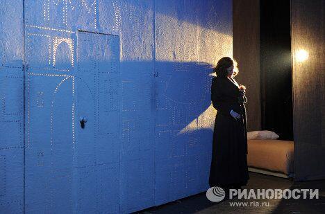 Репетиция спектакля Циники в театре им. Моссовета