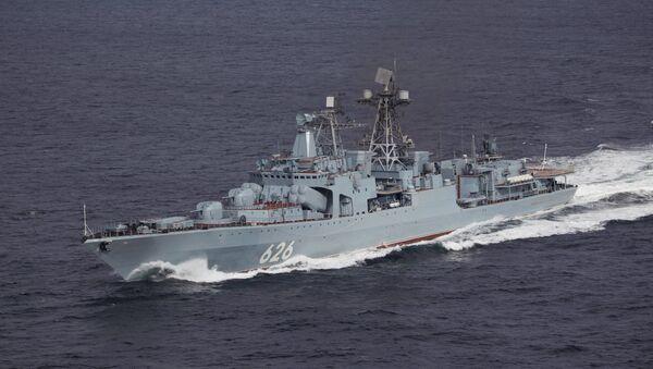 Противолодочный корабль Вице-адмирал Кулаков. Архивное фото