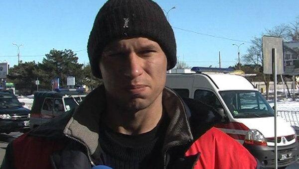 Спасенный моряк рассказал, как загорелся сухогруз в Крыму