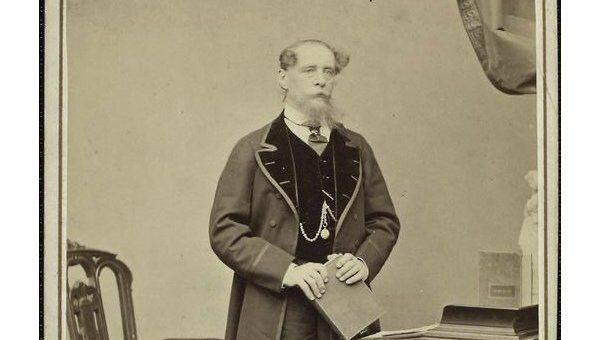 Чарльз Диккенс. Фото 1860-х годов