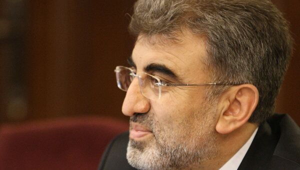 Министр энергетики и природных ресурсов Турции Танер Йылдыз. Архивное фото