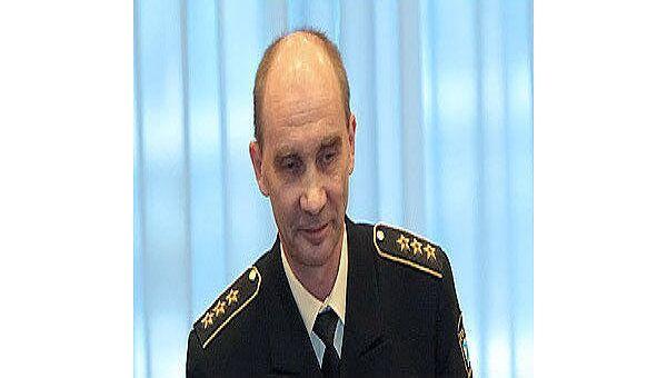 Главком ВМФ РФ адмирал Владимир Высоцкий