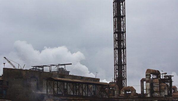 Завод Электроцинк во Владикавказ. Архивное фото