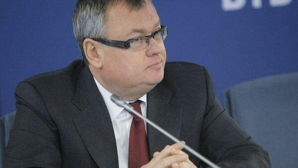 Председатель правления ОАО Банк ВТБ Андрей Костин. Архив