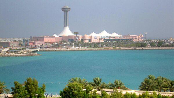 Город Абу-Даби в ОАЭ. Архив