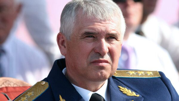 Главком ВВС РФ генерал-полковник Александр Зелин. Архив