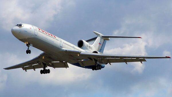 Самолет ТУ-154М. Архив