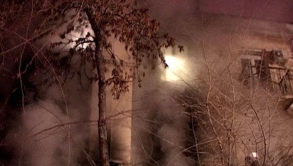 Пожар в кафе в Волгограде