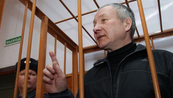 Рассмотрение вопроса о продлении срока ареста заместителя главы администрации Екатеринбурга Виктора Контеева