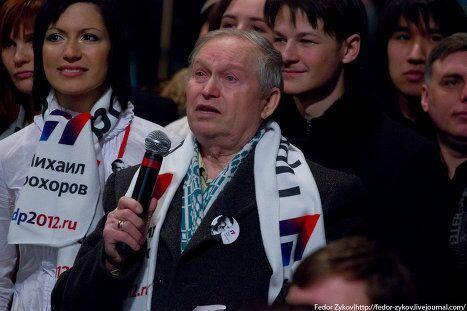 Михаил Прохоров поделился опытом с молодежью Екатеринбурга