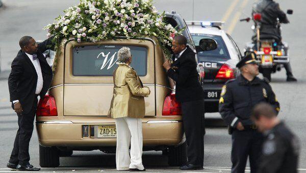 Прощание с Уитни Хьюстон в Ньюарке