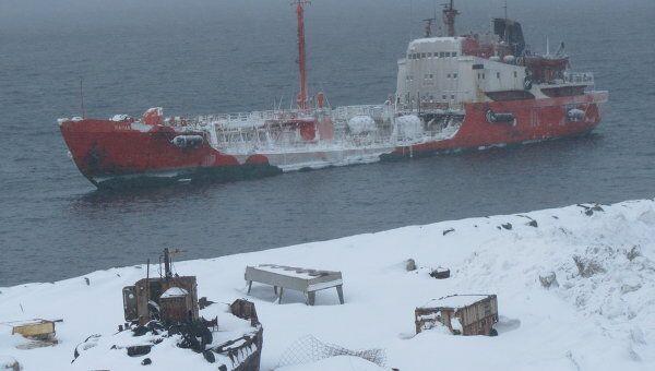 танкер и подготовка оборудования