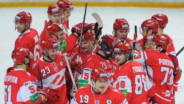 Хоккеисты Спартак (Москва)