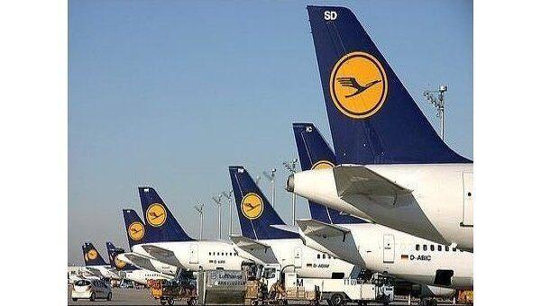 Авиакомпания Lufthansa. Архив