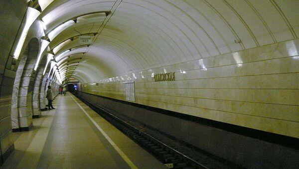 Станция Чкаловская Московского метрополитена. Архивное фото