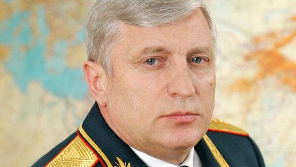 Главнокомандующий Сухопутными войсками Александр Николаевич Постников