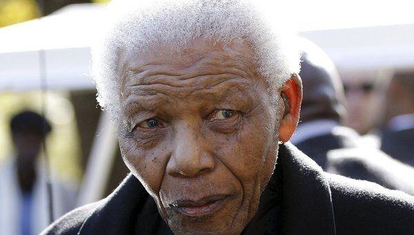 Нельсон Мандела. Архивное фото