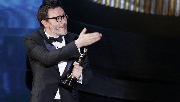 Мишель Хазанавичус на 84-й церемонии вручения Оскара