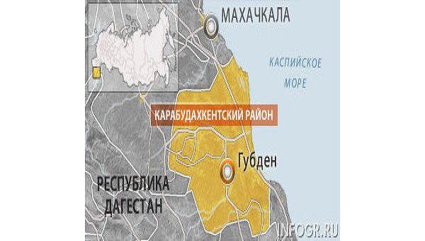 Село Губден Карабудахкентского района Дагестана