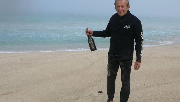 Послание в бутылке с яхты Конюхова нашли у берегов Австралии спустя три года