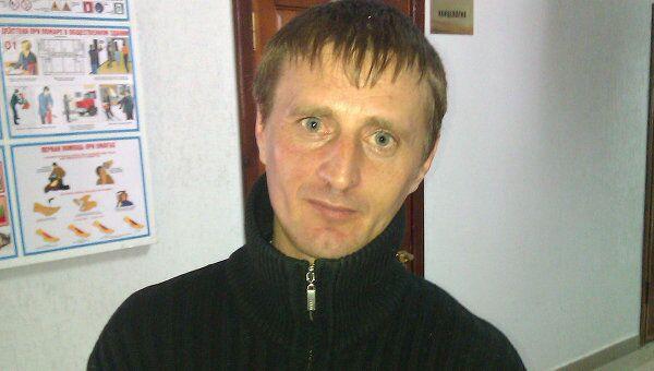 Рядовой Андрей Попов, обвиняемый в дезертирстве