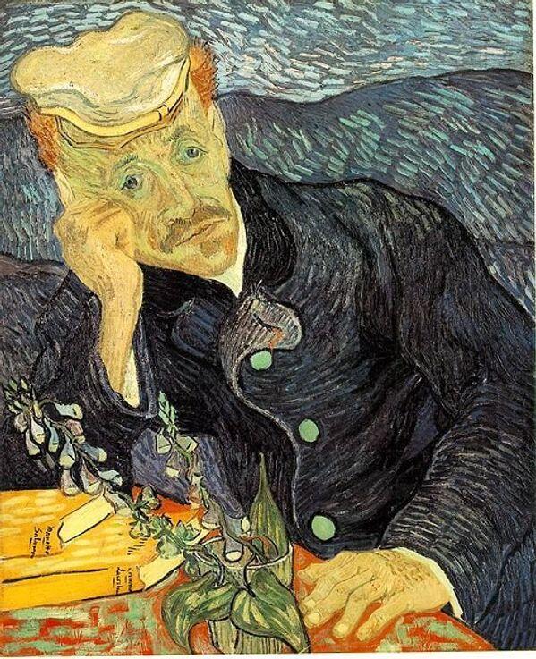 Портрет доктора Гаше кисти Ван Гога