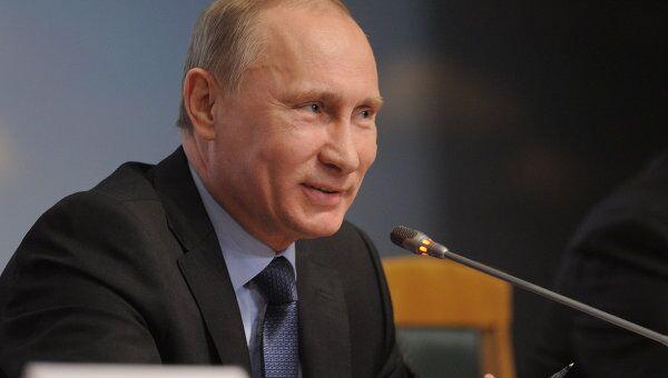Премьер-министр РФ В.Путин . Архив