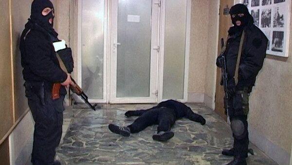 Нападение на склад в Химках