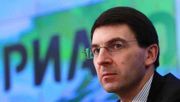 Брифинг министра связи и массовых коммуникаций Игоря Щеголева