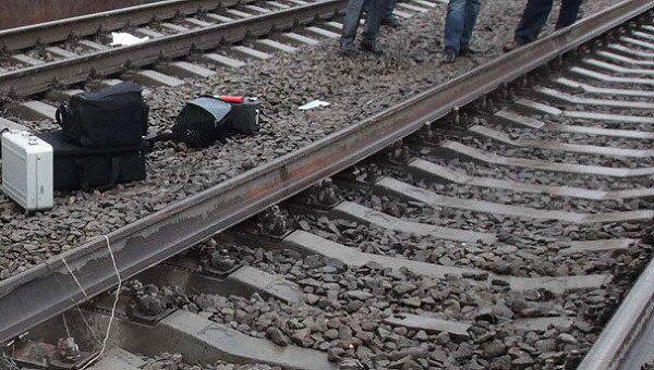 Взрыв на железной дороге. Архив