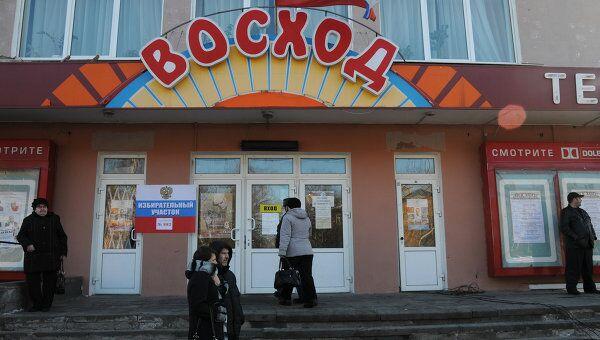 Избирательный участок № 882 в Петербурге