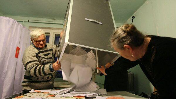 Выборы в Красноярском крае