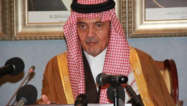 Сауд Аль-Фейсал. Архивное фото