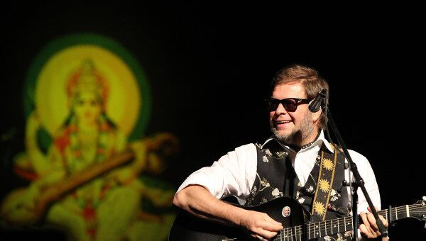 Концерт группы Аквариум с новой программой Красная Река в Крокус Сити Холле