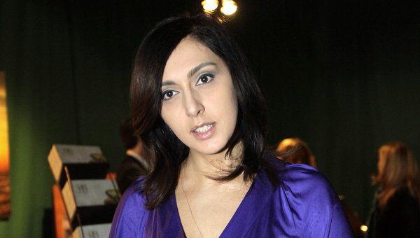 Главный редактор русской версии журнала Variety Екатерина Мцитуридзе