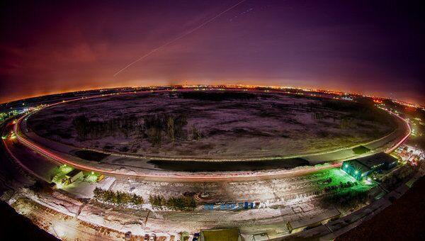 Общий вид американского коллайдера Теватрон