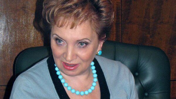 Председатель Мосгорсуда Ольга Егорова . Архив