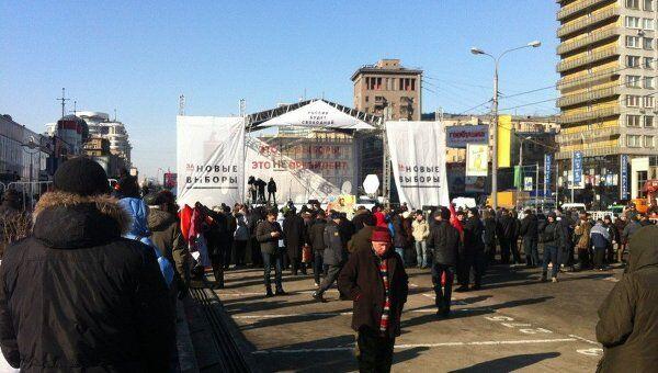 Подготовка митинг 10 марта арбат репортер