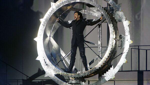 Певец Филипп Киркоров выступает с шоу-программой ДруGoy в Государственном Кремлевском Дворце