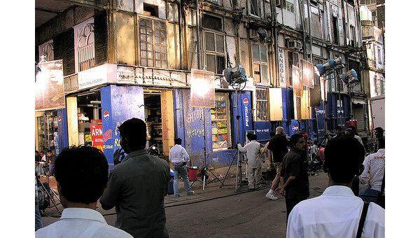 Съемки фильма в Индии