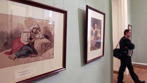Открытие выставки Знаменитый и неизвестный Карл Брюллов