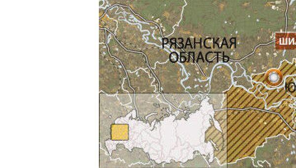 Село Юшта Шиловского района Рязанской области