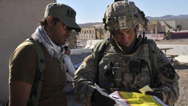 Сержант вооруженных сил США Роберт Бэйлс