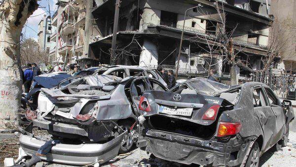 После двух взрывов в Дамаске