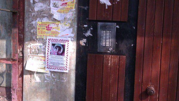 Поиски похищенной в Брянске девочки. Подъезд дома, где живет мать пропавшей девочки